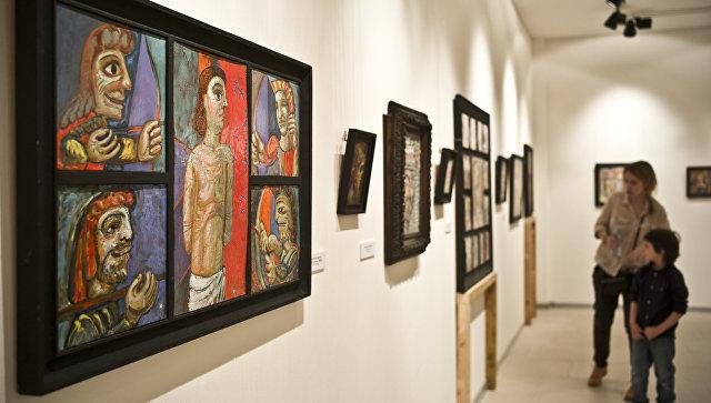 Выставка современного христианкого искусства. Архивное фото