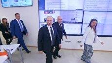 Путину в МИА Россия сегодня показали, как работает радиостанция Sputnik