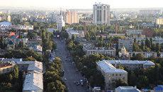 Вид на Кольцовскую улицу в Воронеже. Архивное фото