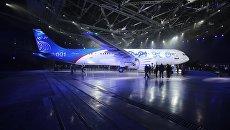 Новый пассажирский самолет МС-21. Архивное фото