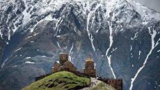 Кавказские горы. Архивное фото