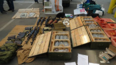 Боеприпасы, изъятые СБУ. Архивное фото
