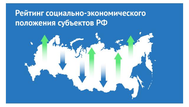 Рейтинг социально-экономического положения субъектов РФ по итогам 2015 года