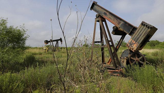 Нефтяные скважины в Техасе, США. Архивное фото