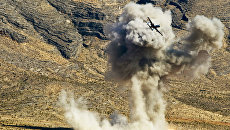 Самолет A-10 ВВС США во время учений в штате Невада. Архивное фото