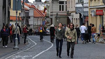 Столица Литвы Вильнюс. Архивное фото
