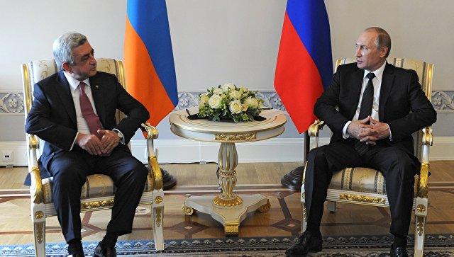 Накануне встречи Путин-Саргсян в Сочи российские СМИ указали на главное в отношениях РФ и Армении