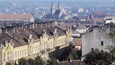 Вильнюс. Панорама города. Архивное фото