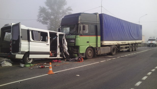 ВКурске всуд направили дело посмертельному ДТП сукраинским автобусом