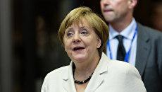 Федеральный канцлер Германии Ангела Меркель. Архивное фото
