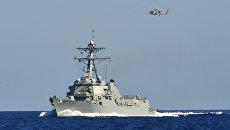 Американский эсминец, архивное фото