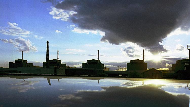 Запорожская АЭС . Архивное фото