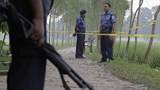 Сотрудники правоохранительных органов Бангладеш. Архивное фото