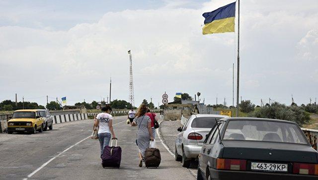 На Украину за пять месяцев не пустили почти 1,5 тысячи человек из России