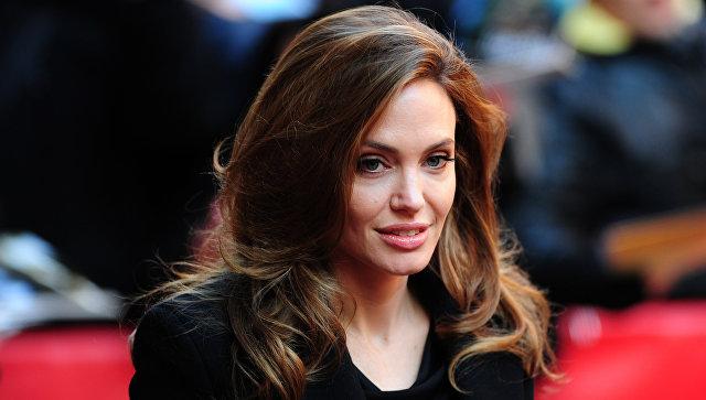 Американская актриса и режиссер Анджелина Джоли. Архивное фото