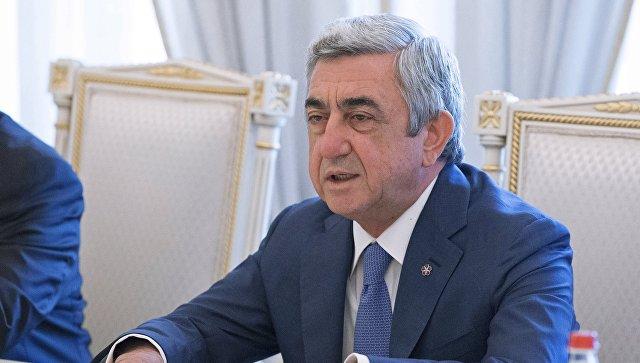 «Жоховурд»: О чем говорил вчера Серж Саргсян на заседании Исполнительного органа РПА?
