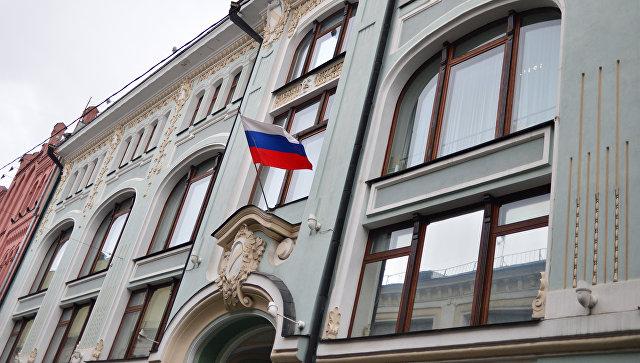 Фасад здания Центральной избирательной комиссии России. Архивное фото