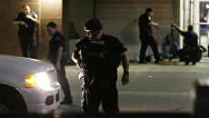Операция по розыску убийц полицейских в Далласе. 8 июля 2016