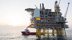 Нефтяная в Северном море. Архивное фото