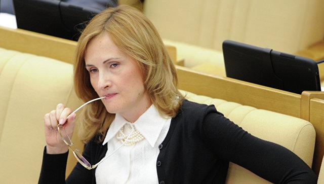 Председатель комитета Государственной Думы РФ по безопасности и противодействию коррупции Ирина Яровая, архивное фото