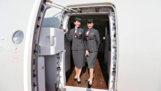 Стюардессы авиакомпании Qatar Airways. Архивное фото