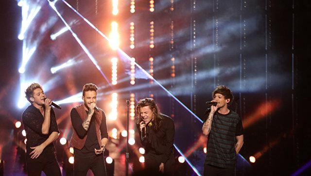 Участники англо-ирландский бой-бэнда One Direction