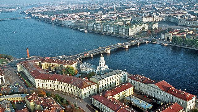 Панорама Санкт-Петербурга. Архивное фото