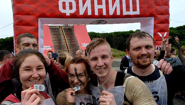 Гонка героев во Владивостоке. Архивное фото