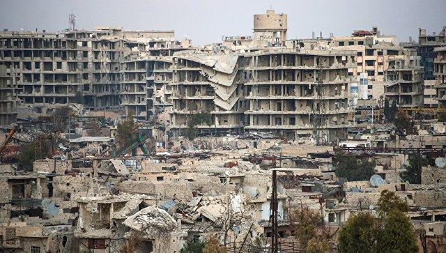 Джобар - район Дамаска. Архивное фото