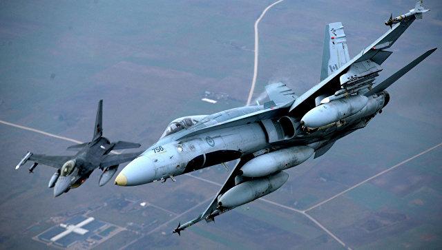 Самолеты НАТО. Архивное фото