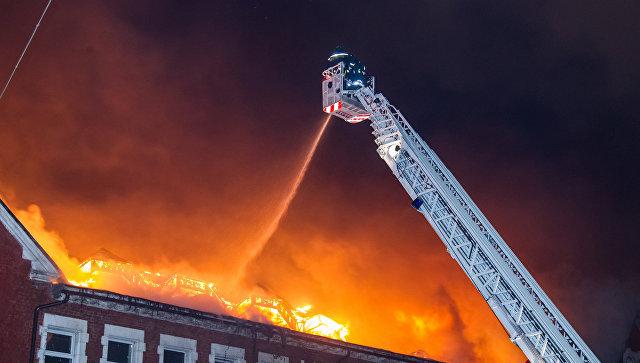 В столице России стало менее пожаров