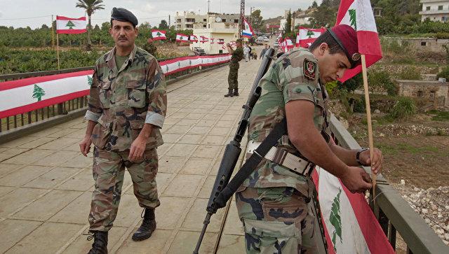 Ливанская армия будет использовать все средства для защиты суверенитета