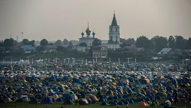 Фестиваль Alfa Future People 2016 в поселке Большое Козино под Нижним Новгородом