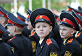 Курсанты суворовского военного училища