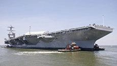Авианосец USS Gerald R. Ford (CVN-78)