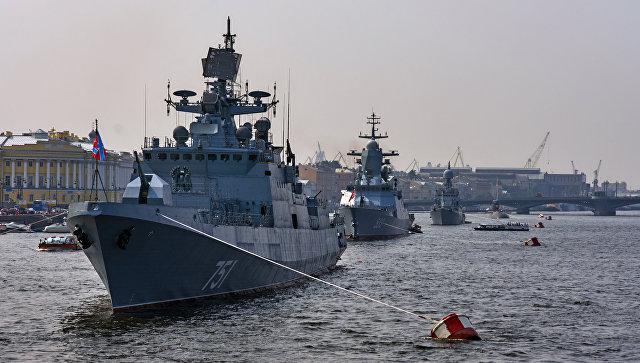 Итоги появления американского эсминца:  военно-морской парад в Петербурге состоится в усечённом виде