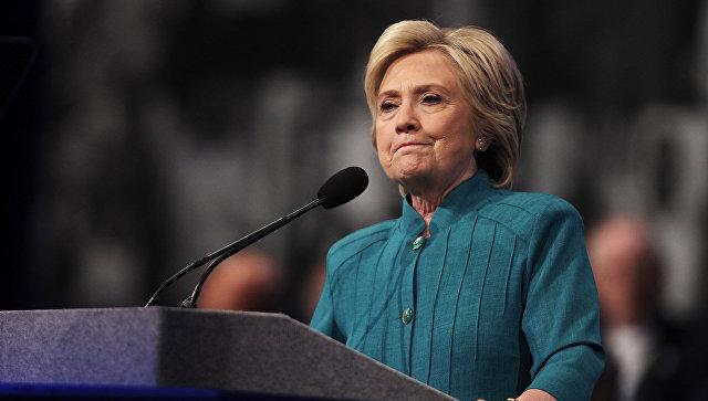 US candidato presidenziale del Partito democratico, Hillary Clinton in Nevada.  19 luglio 2016