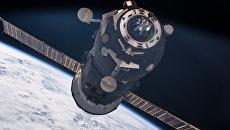 Российский корабль Прогресс-62Р на МКС. Архивное фото