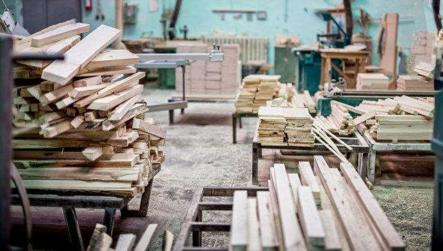 Предприятие по переработке древесины. Архивное фото