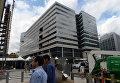 Города мира. ВашиУ здания Международного валютного фонда в Вашингтоне