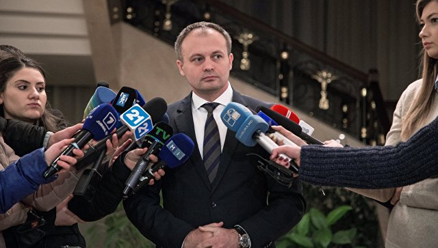 Председатель парламента Республики Молдова Андриан Канду, архивное фото