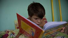 Десятилетний Коля в Свято-Софийском детском доме семейного типа