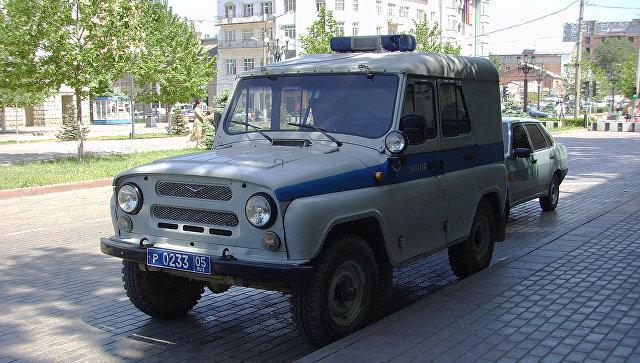 Полицейские машины в Махачкале, Дагестан. Архивное фото