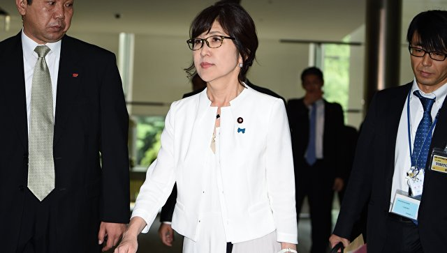 Министр обороны Японии Томоми Инада