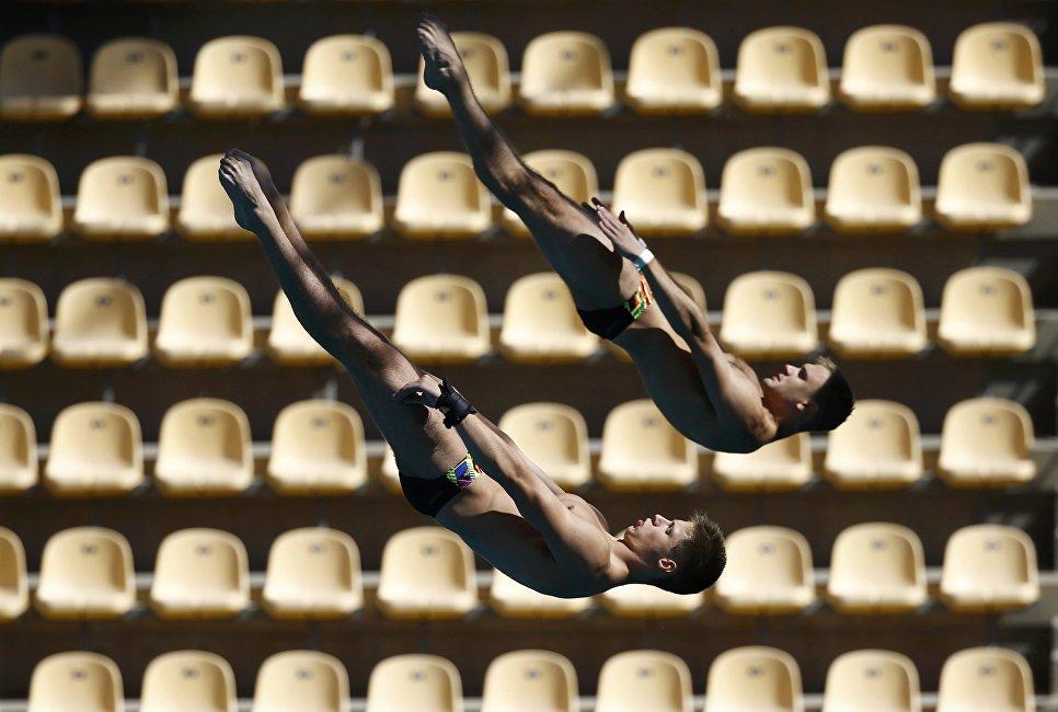 Тренировка перед Олимпийскими играми 2016 в Рио-де-Жанейро. 1 августа 2016