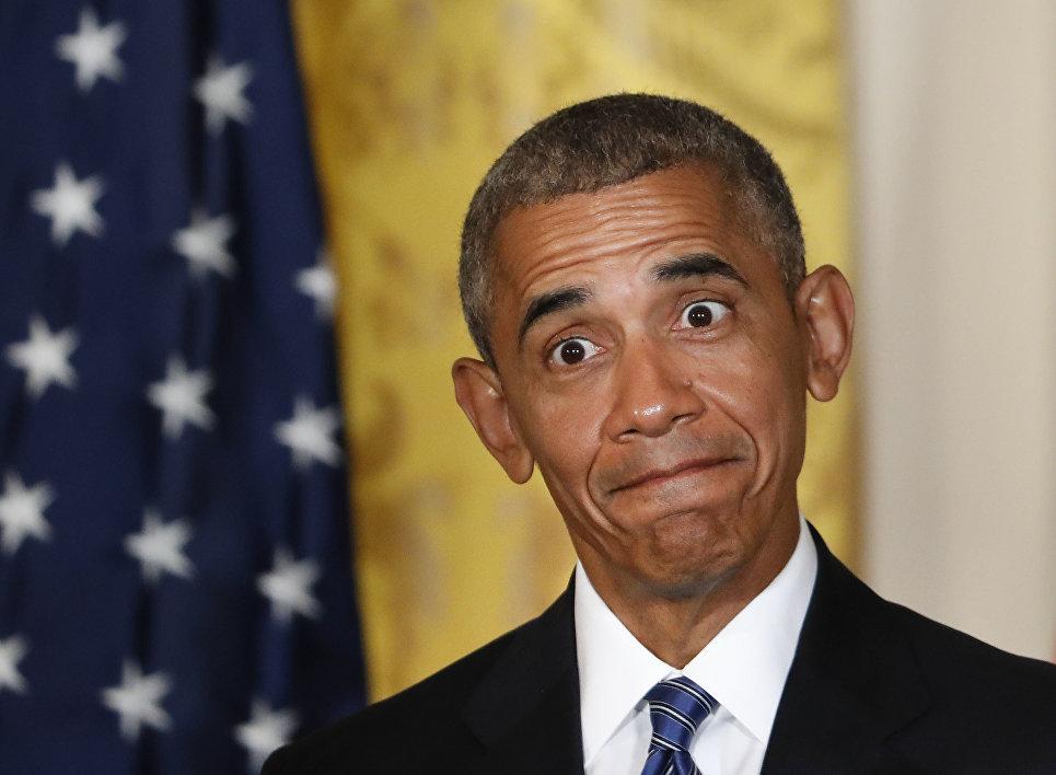 Президент США Барак Обама. 2 августа 2016
