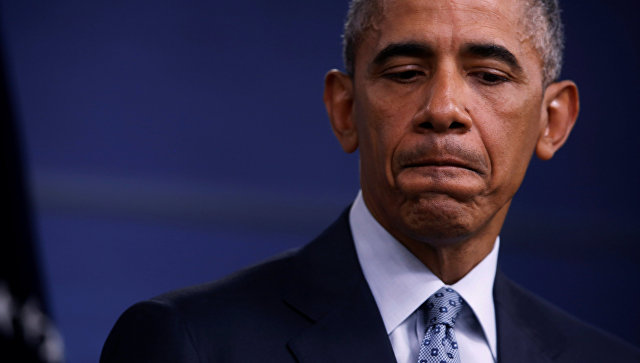 Президент США Барак Обама на пресс-конференции в Пентагоне. 4 августа 2016 года