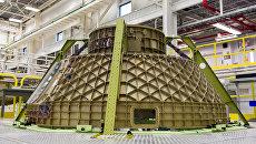 Пилотируемый транспортный космический корабль CST 100 Starliner. Архивное фото
