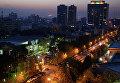 Ранним утром на улице Фатеми в Тегеране