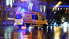 Автомобиль скорой медицинской помощи в Москве. Архивное фото